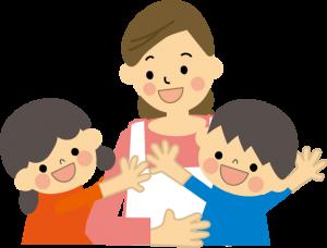 保育士と子ども
